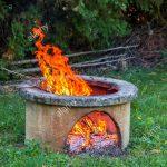 Feuerstellen Im Garten Garten Feuerstellen Im Garten Trockene Zweige Brennen In Isolierten Lagerfeuerplatz Leuchtkugel Bewässerung Automatisch Badezimmer Renovieren Kosten Wohnzimmer