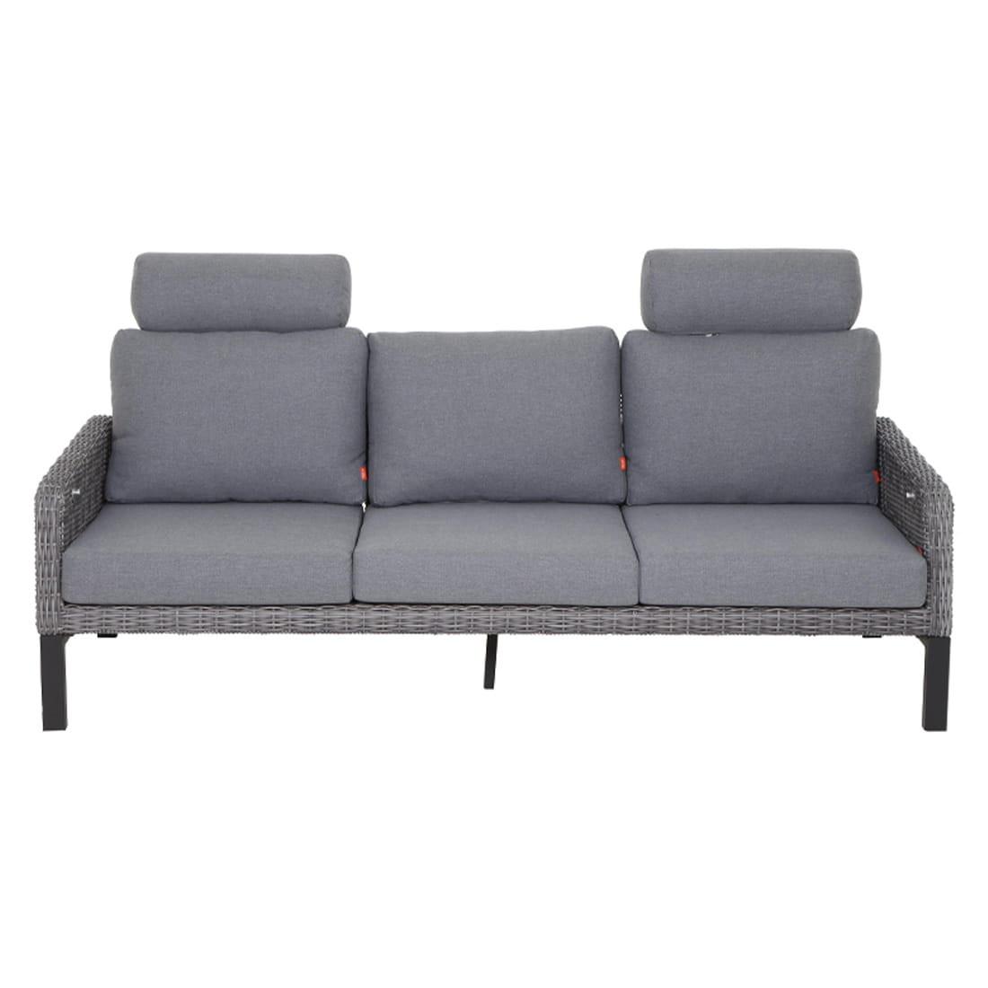 Full Size of 3 Sitzer Sofa Und 2 Sessel Leder Mit Relaxfunktion Couch Schlaffunktion Bei Roller Bettfunktion Federkern Siena Garden Bellani Aluminum Gardino Garten Bezug Sofa 3 Sitzer Sofa