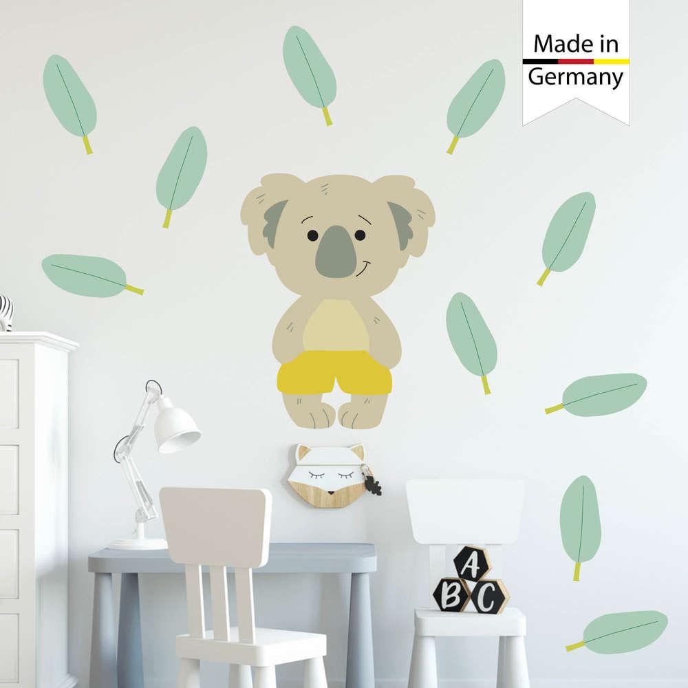 Full Size of Wandaufkleber Kinderzimmer Wandtattoo Koala Dekoration Wandsticker Regal Weiß Sofa Regale Kinderzimmer Wandaufkleber Kinderzimmer