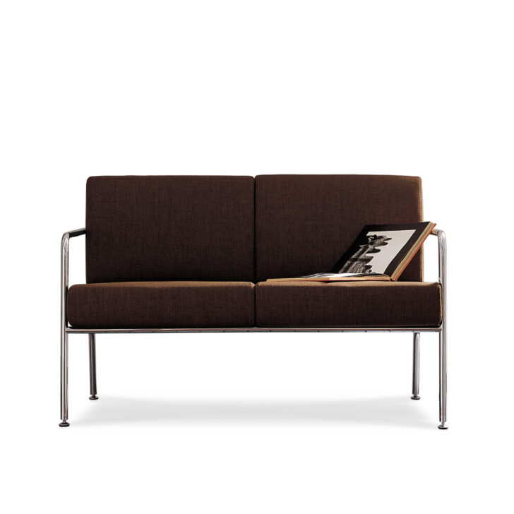 Medium Size of Zweisitzer Sofa Aus Leder Und Verchromten Metallgestell Billy 2 Home Affair Comfortmaster Goodlife Günstige Minotti Canape Natura Hussen Abnehmbarer Bezug Sofa Sofa Zweisitzer
