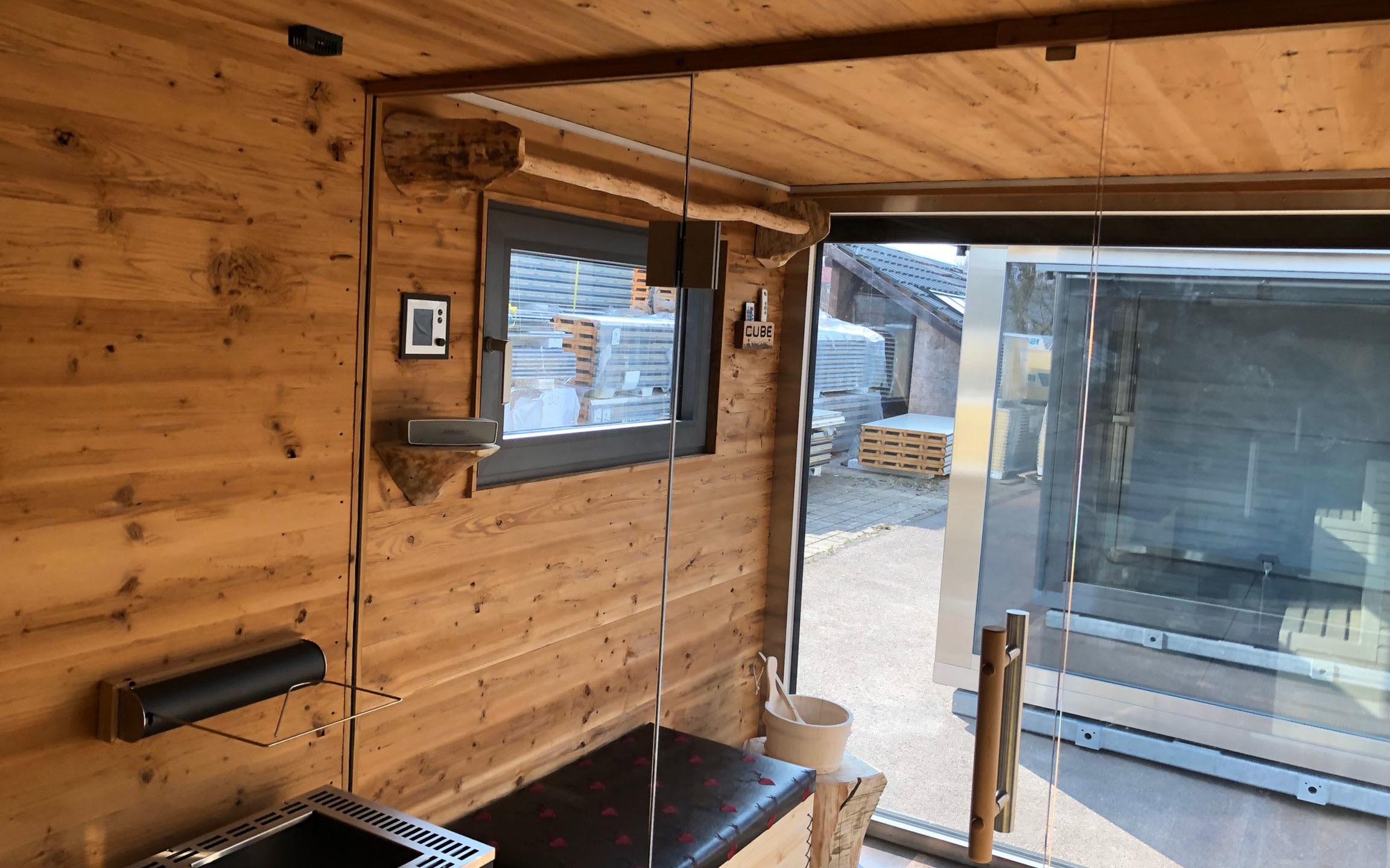 Full Size of Edelstahl Deluxe Gartensauna Altholz Cube Fsofort Verfgbar Whirlpool Garten Aufblasbar Bewässerung Automatisch Gewächshaus Spielhaus Holz Feuerstelle Garten Garten Sauna