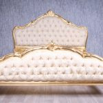 Barock Bett Grazia Belegt Mit Blattgold Betten Onlineshop Metall 160x220 200x200 Komforthöhe Günstige 140x200 Stauraum Rückwand Rutsche Podest Weiß Tatami Bett Bett Antik