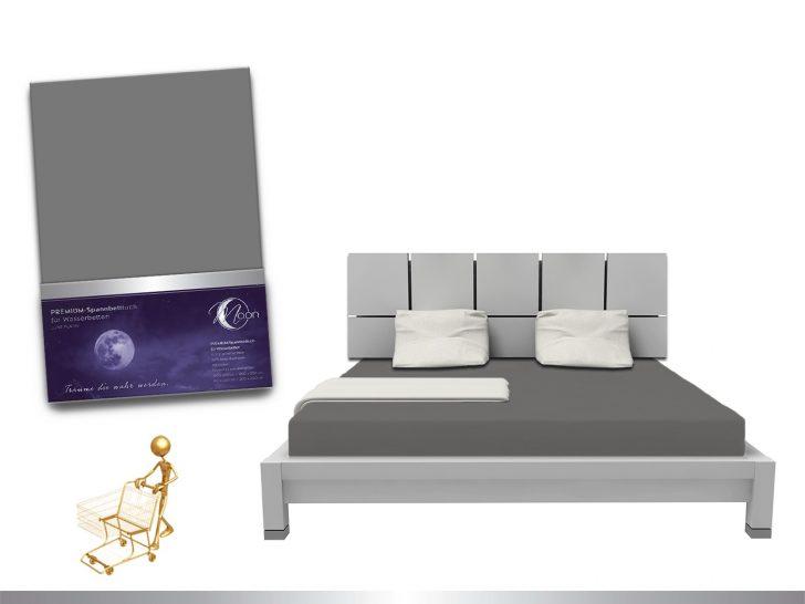 Luxus Wasserbett Spannbettlaken Line Platin 180 200x220 240g M Betten 180x200 Ausklappbares Bett Mit Unterbett Weiß Musterring 180x220 Schramm Möbel Boss Bett Wasser Bett