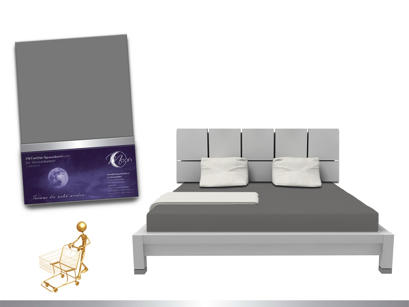 Full Size of Luxus Wasserbett Spannbettlaken Line Platin 180 200x220 240g M Betten 180x200 Ausklappbares Bett Mit Unterbett Weiß Musterring 180x220 Schramm Möbel Boss Bett Wasser Bett