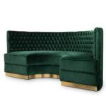 Halbrundes Sofa Samt Schwarz Klein Ikea Gebraucht Im Klassischen Stil Ebay Halbrunde Couch Big Rot Günstiges Mit Schlaffunktion Xxl 3 Sitzer Boxen Grau Sofa Halbrundes Sofa
