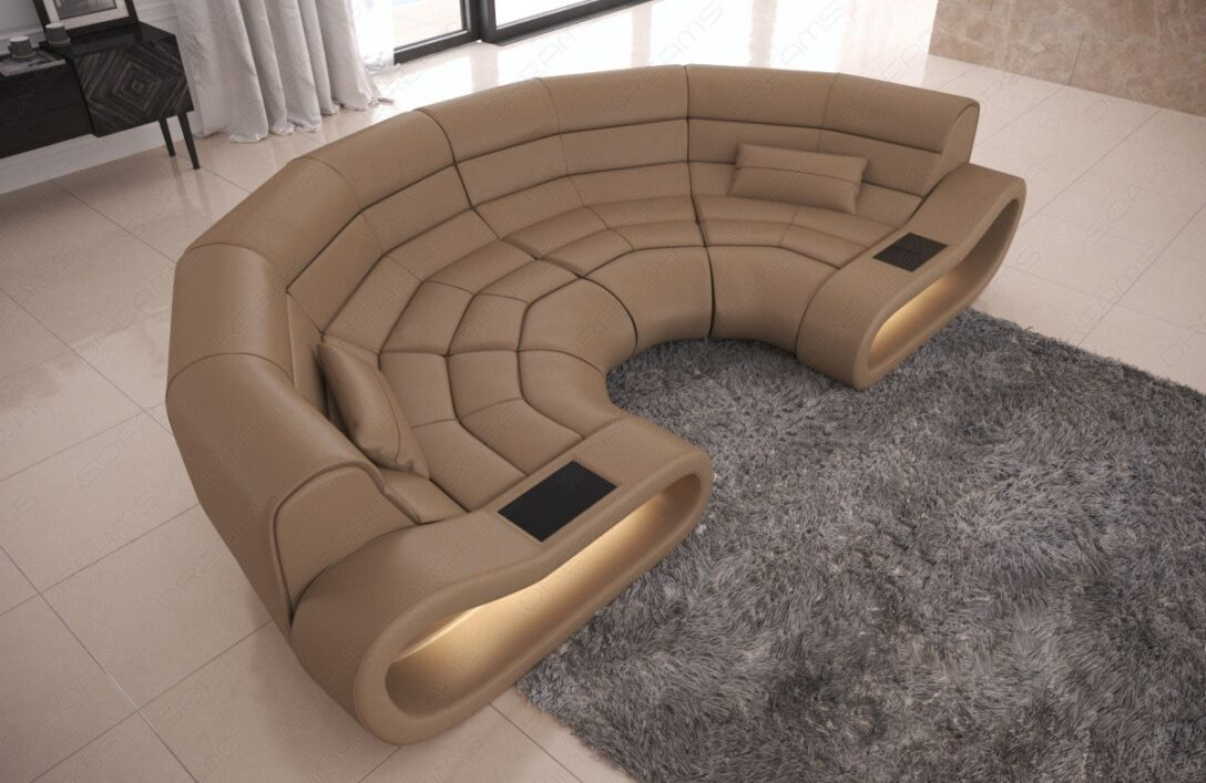 Large Size of Big Sofa Leder Bigsofa Concept Mit Ottomane Und Led Beleuchtung Lounge Garten Kolonialstil Weiß Lila Angebote überzug Kissen Schlafsofa Liegefläche 180x200 Sofa Big Sofa Leder