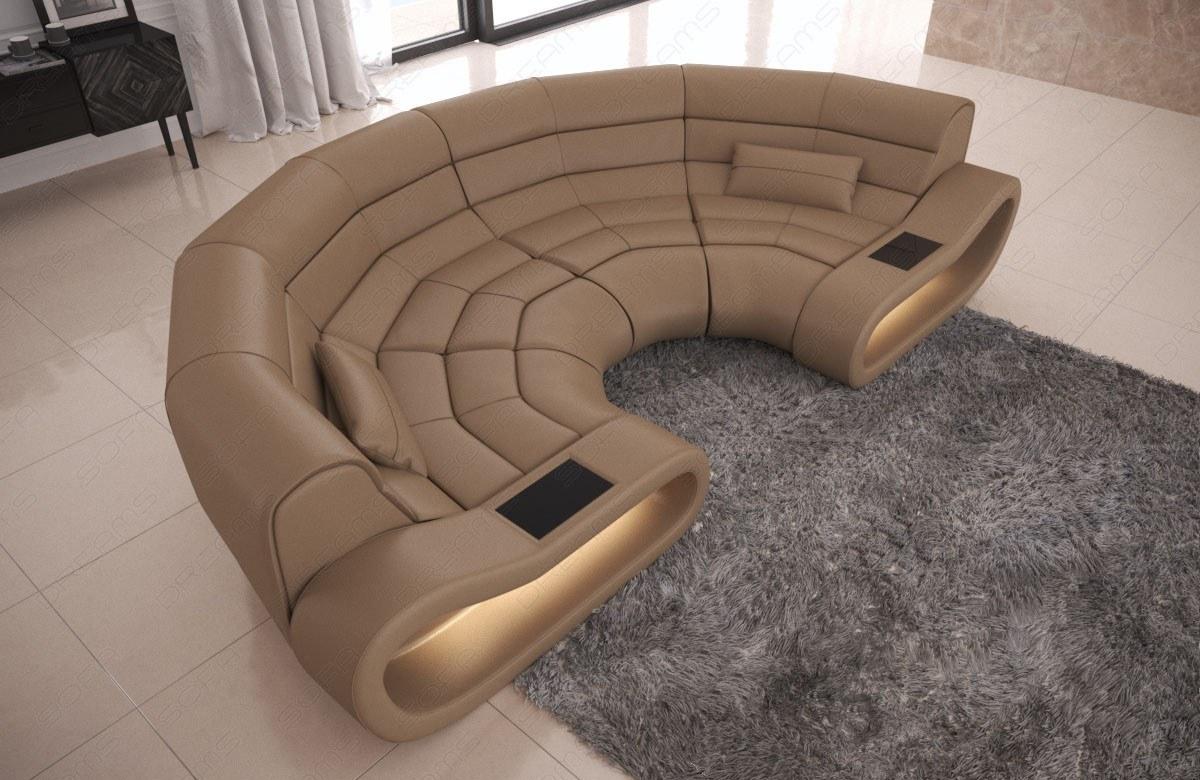 Full Size of Big Sofa Leder Bigsofa Concept Mit Ottomane Und Led Beleuchtung Lounge Garten Kolonialstil Weiß Lila Angebote überzug Kissen Schlafsofa Liegefläche 180x200 Sofa Big Sofa Leder