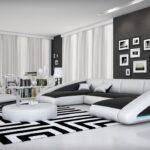 Luxus Sofa Ledercouch Wohnlandschaft Nassau Mit Led Beleuchtung Leder Rattan Garten Big Sam In L Form Für Esszimmer Creme Weiß Grau Megapol 3 Sitzer Sofa Luxus Sofa