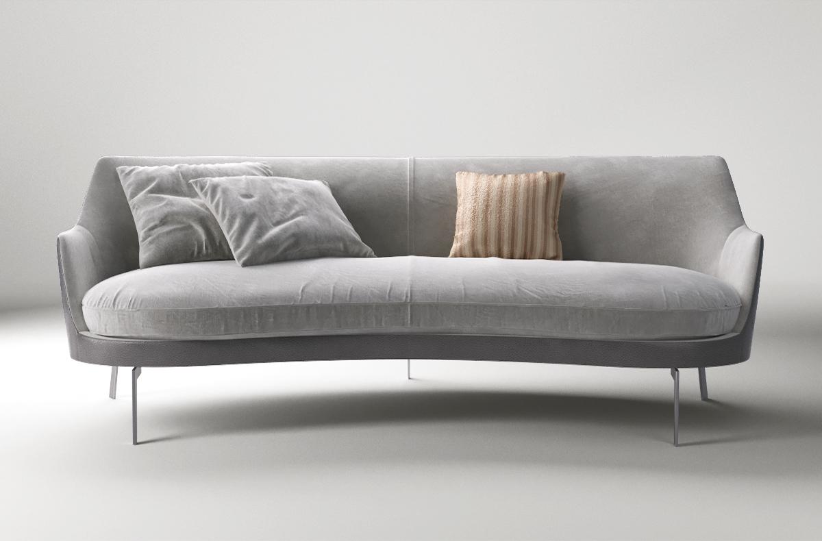 Full Size of Flexform Gary Sofa Bed Furniture Uk Groundpiece Adda Sale Cost Lifesteel Review Ebay Kleinanzeigen List Twins Romeo Sleeper Guscio 3d Modell Turbosquid 1149397 Sofa Flexform Sofa