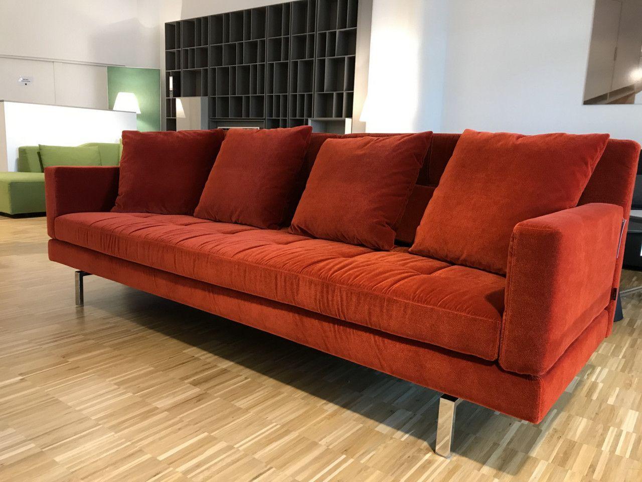 Full Size of Sofa Amber Von Brhl Couch Stoff Samt Velours Orange Wohnlandschaft 2 Sitzer Mit Relaxfunktion 3 Kleines Impressionen Wildleder Kaufen Günstig Schlaf Big Leder Sofa Sofa Stoff