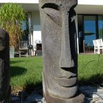 Garten Skulpturen Garten Garten Skulpturen Moai Und Osterinsel Steinfiguren Als Moderne Gartenskulpturen Truhenbank Feuerstelle Sichtschutz Im Pergola Heizstrahler Relaxliege