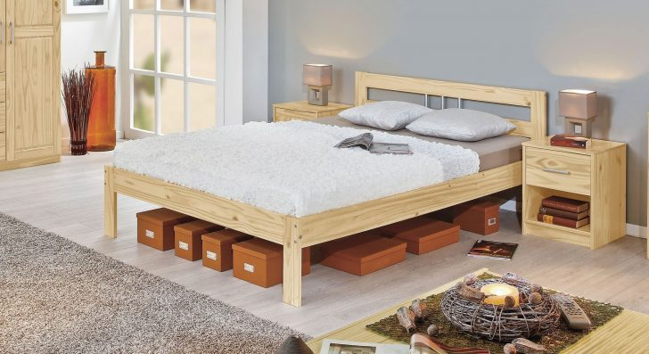 Medium Size of Jugend Betten Gnstiges Massivholzbett In Kiefer Natur Lackiert Bregenz Aus Holz Teenager Außergewöhnliche Nolte 140x200 Weiß Ausgefallene Ikea 160x200 Bei Bett Jugend Betten