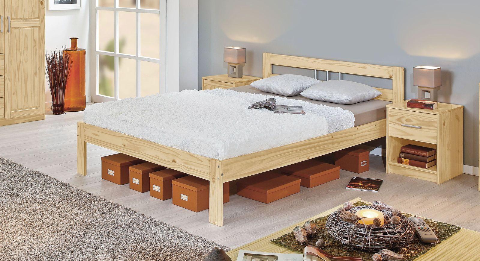 Full Size of Jugend Betten Gnstiges Massivholzbett In Kiefer Natur Lackiert Bregenz Aus Holz Teenager Außergewöhnliche Nolte 140x200 Weiß Ausgefallene Ikea 160x200 Bei Bett Jugend Betten