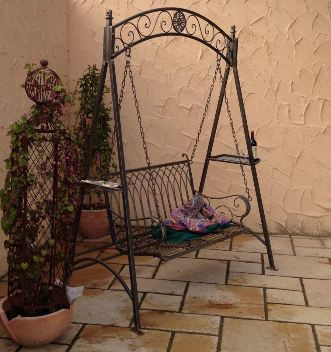 Large Size of Schaukel Für Garten Landhaus Eisen Schmiedeeisen Hollywood Romantico Essgruppe Wasserbrunnen Paravent Sichtschutz Bewässerungssysteme Test Folie Fenster Garten Schaukel Für Garten