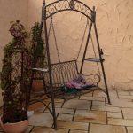 Schaukel Für Garten Landhaus Eisen Schmiedeeisen Hollywood Romantico Essgruppe Wasserbrunnen Paravent Sichtschutz Bewässerungssysteme Test Folie Fenster Garten Schaukel Für Garten