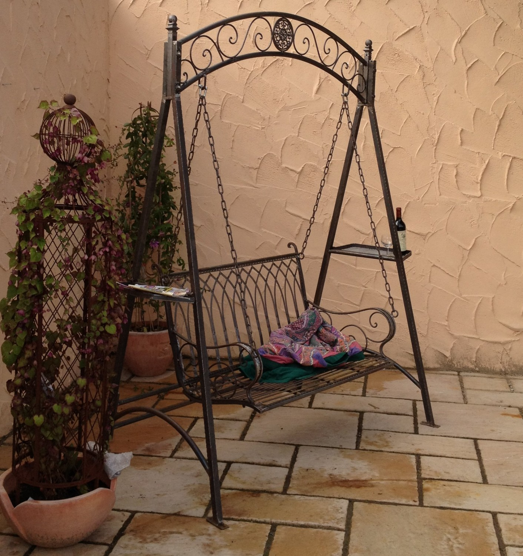 Full Size of Schaukel Für Garten Landhaus Eisen Schmiedeeisen Hollywood Romantico Essgruppe Wasserbrunnen Paravent Sichtschutz Bewässerungssysteme Test Folie Fenster Garten Schaukel Für Garten