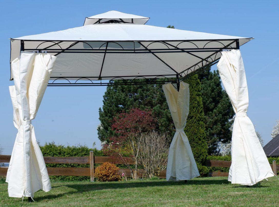 Large Size of Garten Pavillon Mit Lamellendach Winterfest Faltbarer Gartenpavillon 3x3m Rund Eleganter 3x3 Meter Loungemöbel Holz Bewässerungssystem Feuerschale Garten Garten Pavillon