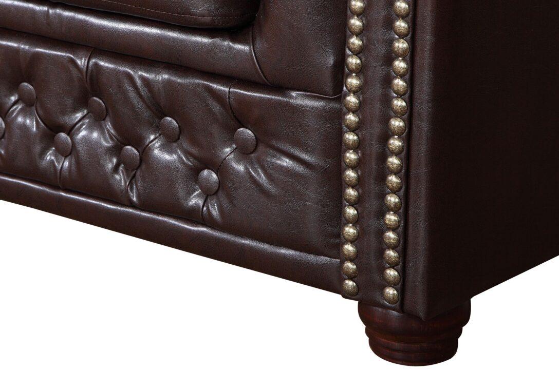 Large Size of Sofa Kunstleder Edles Chesterfield 3 Sitzer In Braun Couch Le Corbusier Canape Hersteller Dauerschläfer Big Schlafsofa Liegefläche 180x200 Ohne Lehne Bezug Sofa Sofa Kunstleder