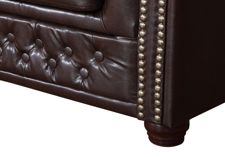 Medium Size of Sofa Kunstleder Edles Chesterfield 3 Sitzer In Braun Couch Le Corbusier Canape Hersteller Dauerschläfer Big Schlafsofa Liegefläche 180x200 Ohne Lehne Bezug Sofa Sofa Kunstleder