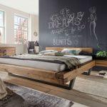 Bett Massivholz 180x200 Bett Bett Massivholz 180x200 Schwebebalkenbett Kopenhagen Wildeiche Von La Natura Rustikales Matratze Weiß Kopfteil 140 Mit Bettkasten Japanisches 160x200