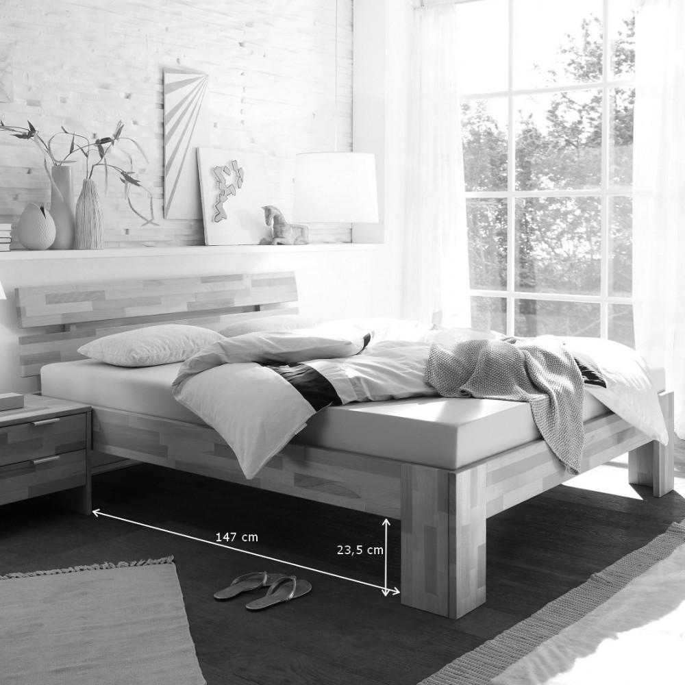 Full Size of Betten überlänge Alice 2 Bett 140x220 Berlnge Kernbuche Massiv Kaufen Mbel Runde Bei Ikea Meise Breckle Hamburg Weiße Massivholz Hohe Weiß Günstige Bett Betten überlänge