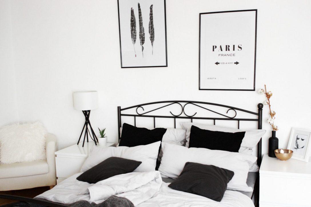 Large Size of Bett Minimalistisch Homestory Schlafzimmer Einrichtung Mein Bezaubernde Nana Futon King Size Boxspring Betten Massivholz Mit Matratze Und Lattenrost Bett Bett Minimalistisch