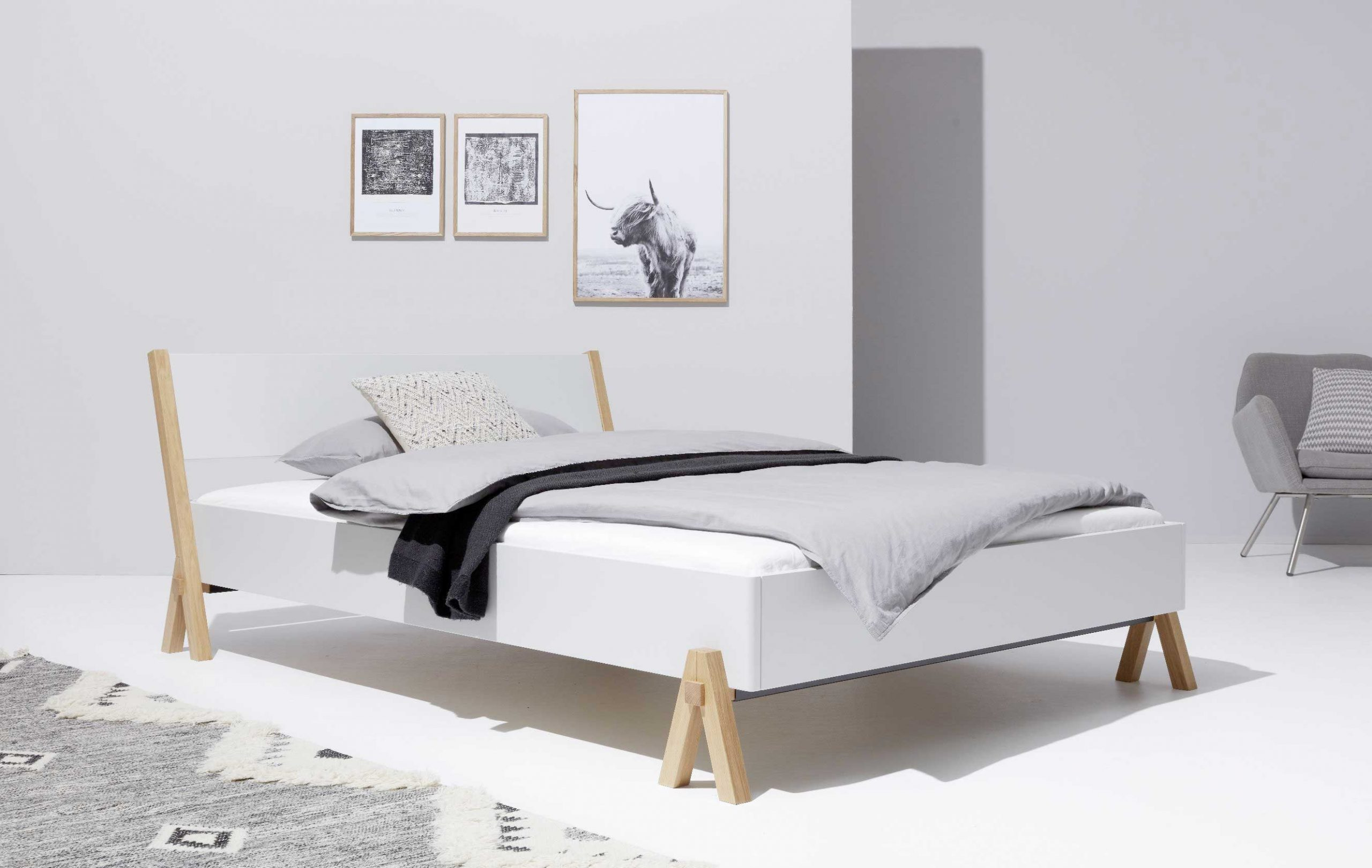 Full Size of Betten 140x200 Weiß Designwebstore Boq Bett Weiss 140 200 Cm Ohne Lattenrost Weißes Regal Frankfurt Mit Schubladen 100x200 Günstig Kaufen Hochglanz Bett Betten 140x200 Weiß