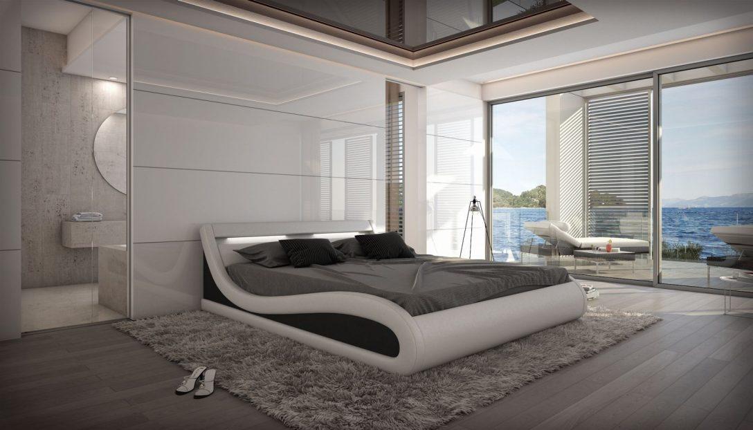 Large Size of Gnstiges Designer Bett Caserta Inklusive Led Beleuchtung Bestes 160x220 Betten Weiß Billerbeck 120x200 180x200 Mit Lattenrost Und Matratze Wasser 120x190 Bett Günstiges Bett