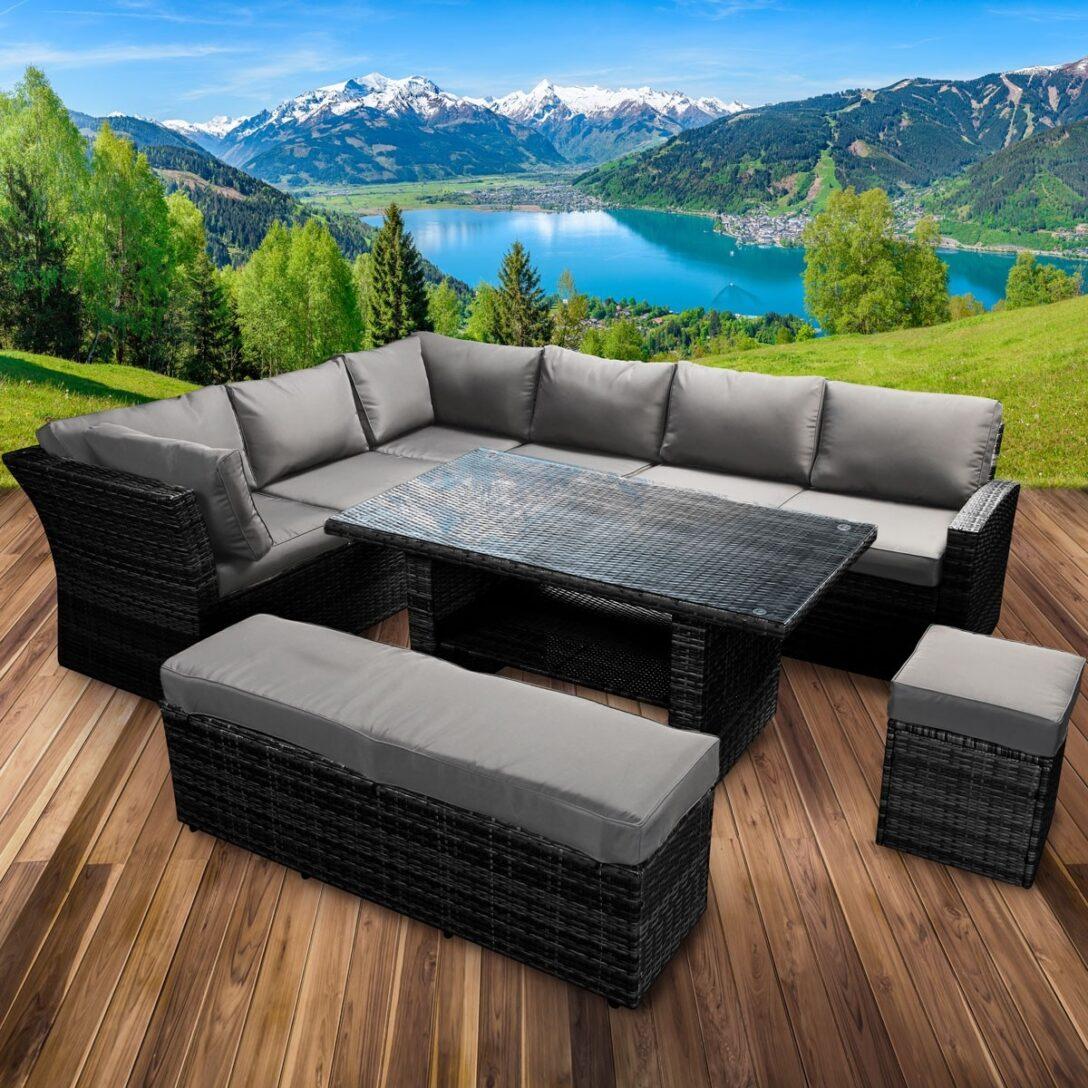 Large Size of Polyrattan Sofa Tchibo Grau Gartensofa Lounge Couch Ausziehbar 2 Sitzer Balkon Garden Set Rattan Outdoor 2 Sitzer Essgruppe Holidays Schwarz Brast24de Muuto Sofa Polyrattan Sofa