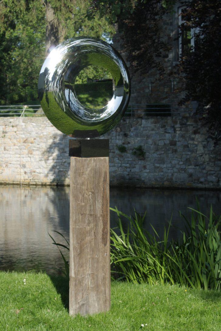 Medium Size of Edelstahl Garten Eclipse Circle Sculpture Skulptur Gnstig Online Kaufen Pavillion Trennwand Paravent Trennwände Spielhaus Kunststoff Zaun Spaten Lounge Möbel Garten Edelstahl Garten