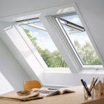 Velux Fenster Fenster Velux Fenster Veluduo Zwei Dachfenster Nebeneinander Roro Flachdach Rolladen Alu Putzen Dänische Sonnenschutz Sichtschutzfolie Einseitig Durchsichtig