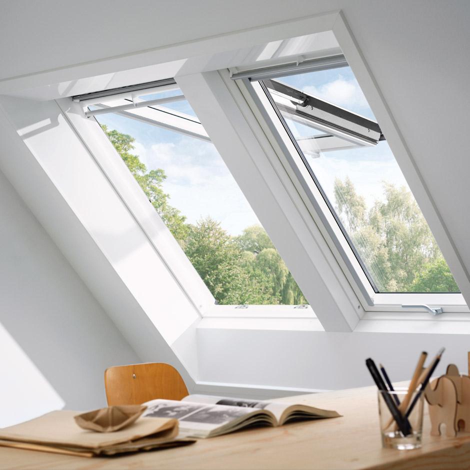 Full Size of Velux Fenster Veluduo Zwei Dachfenster Nebeneinander Roro Flachdach Rolladen Alu Putzen Dänische Sonnenschutz Sichtschutzfolie Einseitig Durchsichtig Fenster Velux Fenster