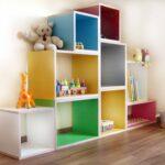 Bücherregal Kinderzimmer Kinderzimmer Bücherregal Kinderzimmer Regal Bunt Designbeispiel 4 Ein Kunterbuntes Regale Weiß Sofa