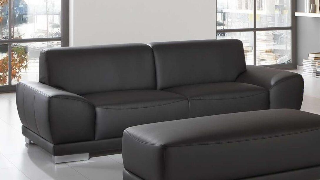 Sofa Garnitur 2 Teilig Sofagarnitur Manila 3 Sitzer Hocker In Schwarz Mit Federkern Regal 25 Cm Breit Esstisch 2m 2er Grau 200x200 Bett 120x200 Günstige U