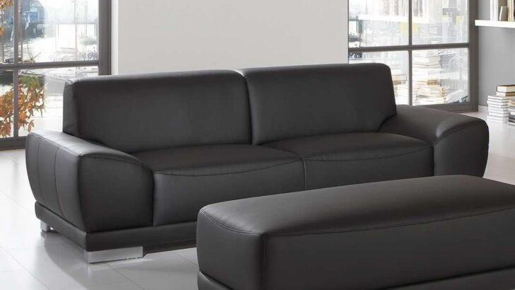 Medium Size of Sofa Garnitur 2 Teilig Sofagarnitur Manila 3 Sitzer Hocker In Schwarz Mit Federkern Regal 25 Cm Breit Esstisch 2m 2er Grau 200x200 Bett 120x200 Günstige U Sofa Sofa Garnitur 2 Teilig