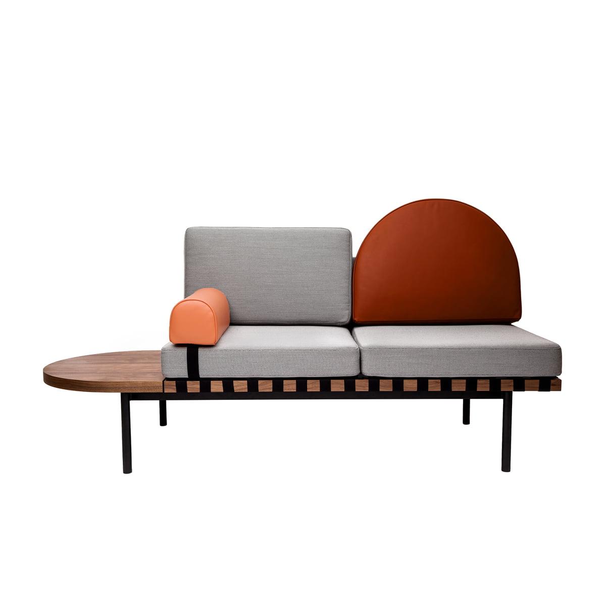 Full Size of Halbrundes Sofa Schwarz Im Klassischen Stil Klein Ikea Halbrunde Couch Rot Ebay Samt Big Gebraucht Grid Daybed Von Friture Connox 2 Sitzer Himolla 3 Mit Sofa Halbrundes Sofa