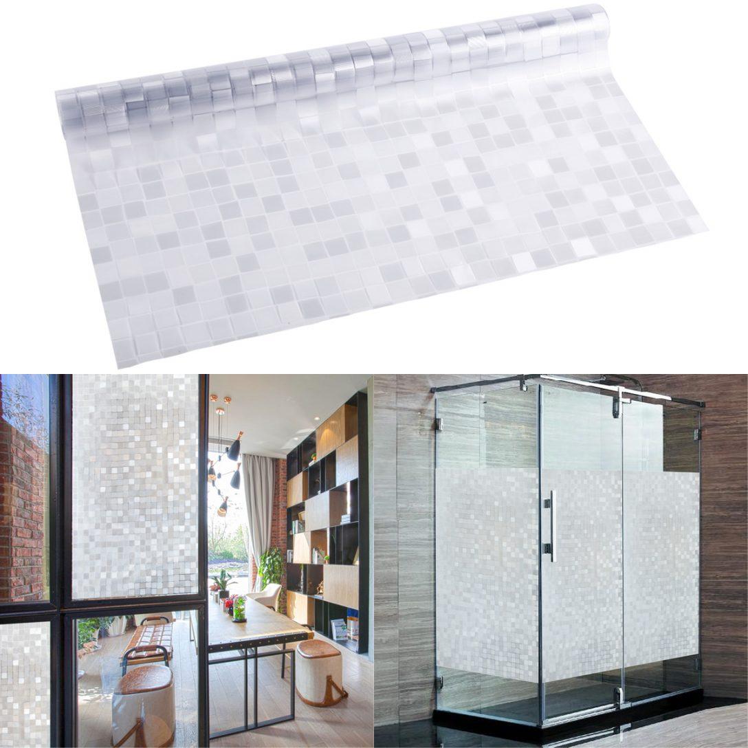Large Size of Mosaik Fensterfolie Sichtschutz Klebefolie 45x200cm Fenster Herne Holz Alu Online Konfigurieren Insektenschutz Ohne Bohren Fliegengitter Maßanfertigung Mit Fenster Klebefolie Fenster