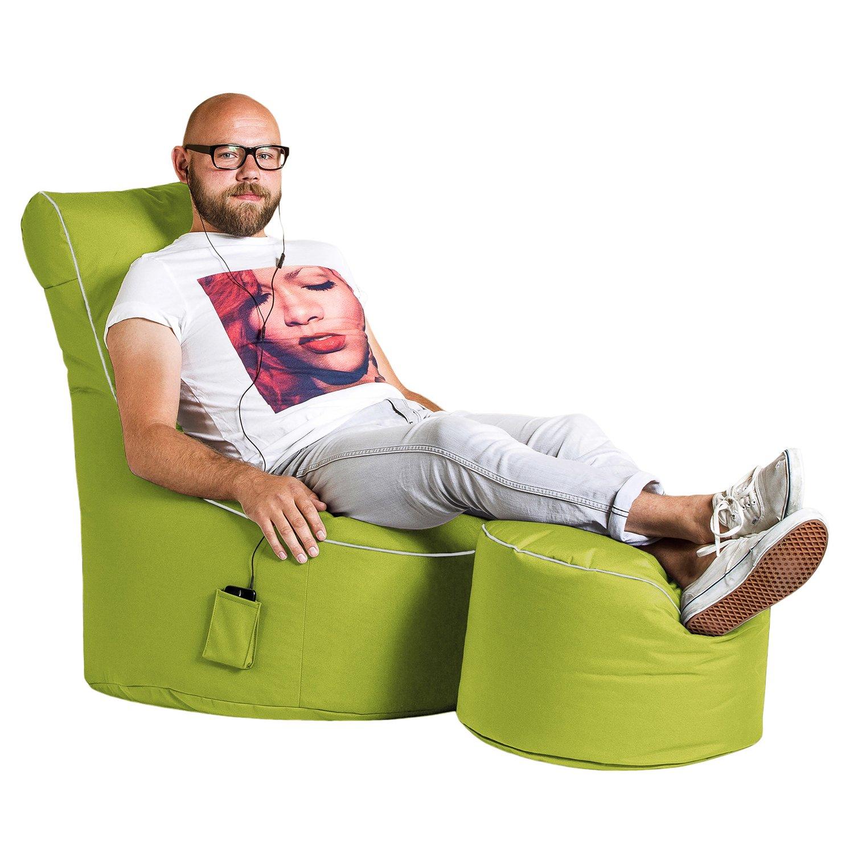 Full Size of Sitzsack Sofa Sitting Point Swing Scuba 300 L Grn Kaufen Bei Obi Mit Bettfunktion Sitzhöhe 55 Cm Big Poco Grau Leder Cassina Rund Himolla Schlaf Boxen Sam Sofa Sitzsack Sofa