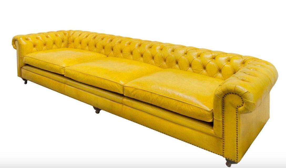 Large Size of Sofa Gelb Casa Padrino Luxus Chesterfield 3er 320 110 H 71 Cm Kissen Englisch Antik Erpo Neu Beziehen Lassen Poco Big Cassina Creme Xxl U Form Kaufen Wk Walter Sofa Sofa Gelb