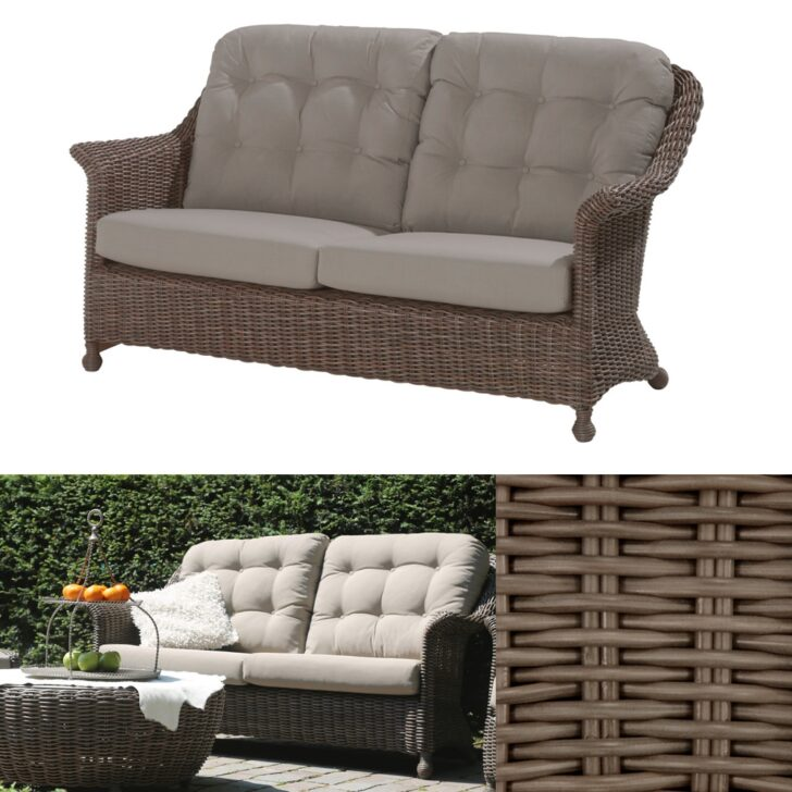 Medium Size of Polyrattan Sofa Lounge Outdoor Couch Grau Set Tchibo Gartensofa Ausziehbar Garden 2 Sitzer Rattan 2 Sitzer Balkon Gartenbank 4seasons Madoera Grün Bullfrog Sofa Polyrattan Sofa