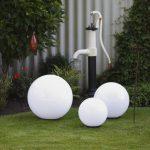 Kugelleuchten Garten Garten Kugelleuchten Garten Led Kugellampen Solar Strom Obi Bauhaus Kugelleuchte Amazon 3er Set Test 30 Cm 220v Direktanschluss 40 50 Real Gewächshaus Skulpturen