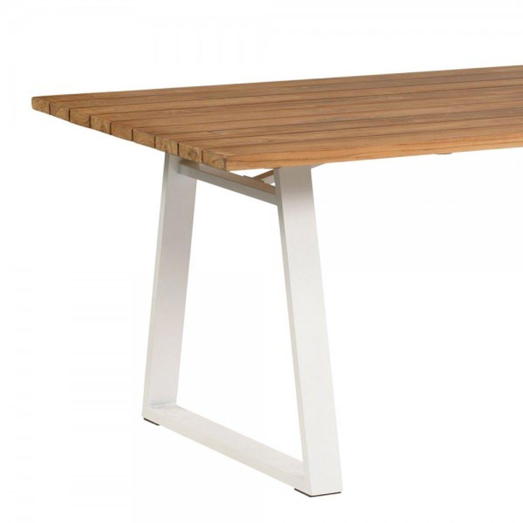 Full Size of Garten Tisch Gartentisch Beton Rund 100 Cm Selber Bauen Metall Holz Set Antik Ikea Klappbar Landi Exotan Sydney 185x90 Teak Alu Wei Esstische Design Lampen Garten Garten Tisch