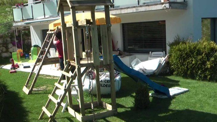 Medium Size of Spielturm Garten Ebay Kleinanzeigen Kinder Gebraucht Test Klein Selber Bauen Obi Holz Bauhaus Aufbau In 15 Minuten Youtube Tisch Lounge Möbel Klapptisch Garten Spielturm Garten