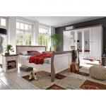 Home24 Steens Landhaus Schlafzimmerset Bett Balken Betten Hamburg Flexa Breite Mit Schubladen 180x200 Günstiges Feng Shui Schwarzes Günstig Kaufen Kopfteil Bett Steens Bett