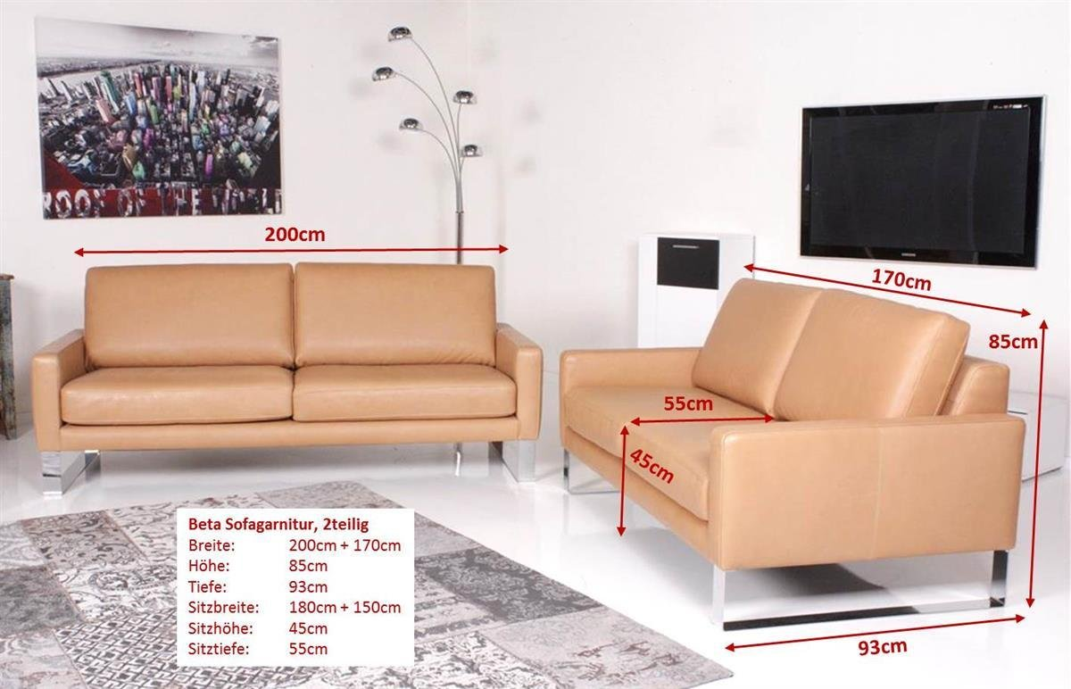 Full Size of Sofa Garnitur 2 Teilig Machalke Beta 2teilig Leder Saddle Miele Amazonde Bett 220 X 180x200 Indomo 160x200 Mit Lattenrost Massivholz Ewald Schillig Polster Sofa Sofa Garnitur 2 Teilig