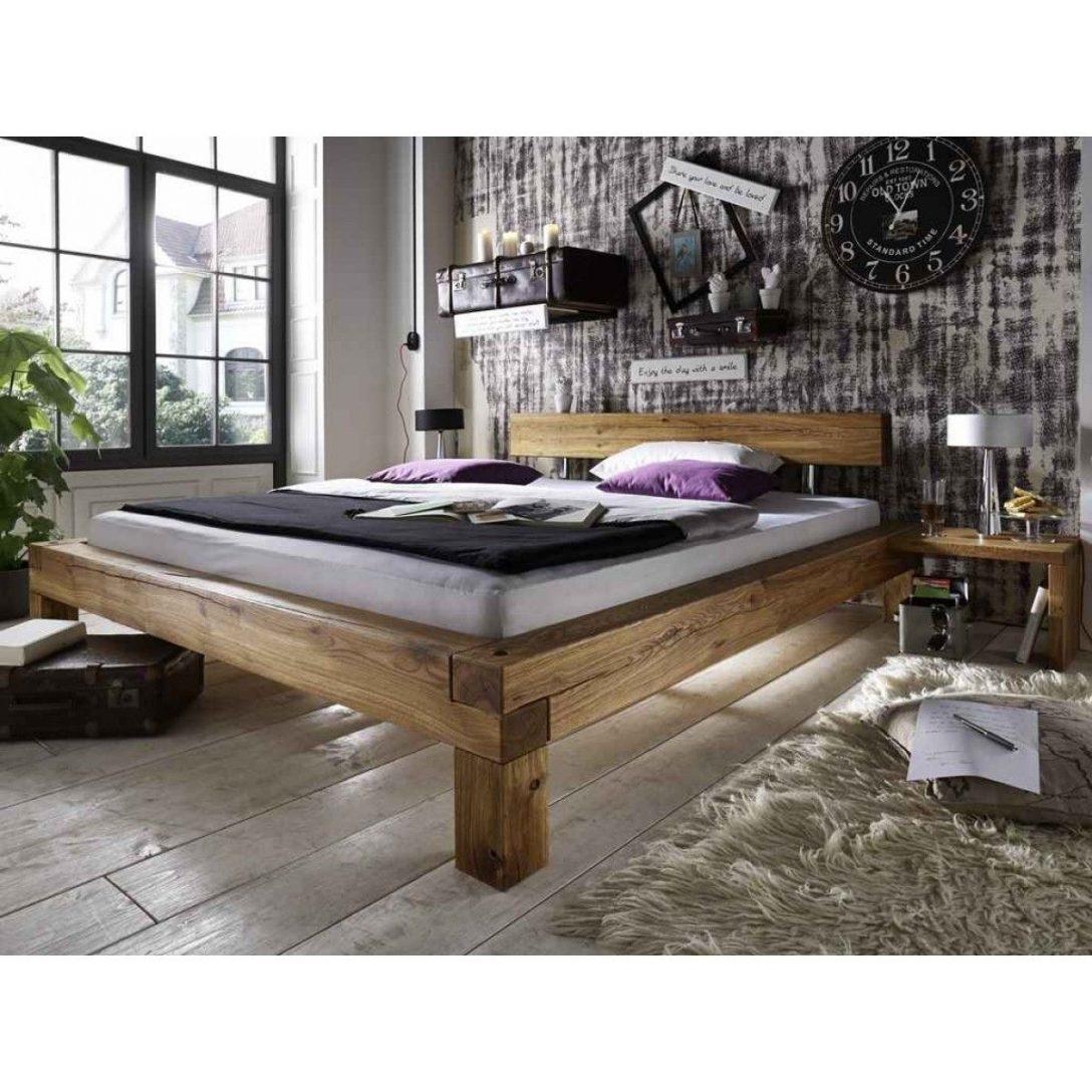 Large Size of Bett Eiche Massiv 180x200 Massivholz 140x200 Ohne Kopfteil Ruf Betten Fabrikverkauf Schwebendes Weiß Günstige Podest Bett Bett Eiche Massiv 180x200