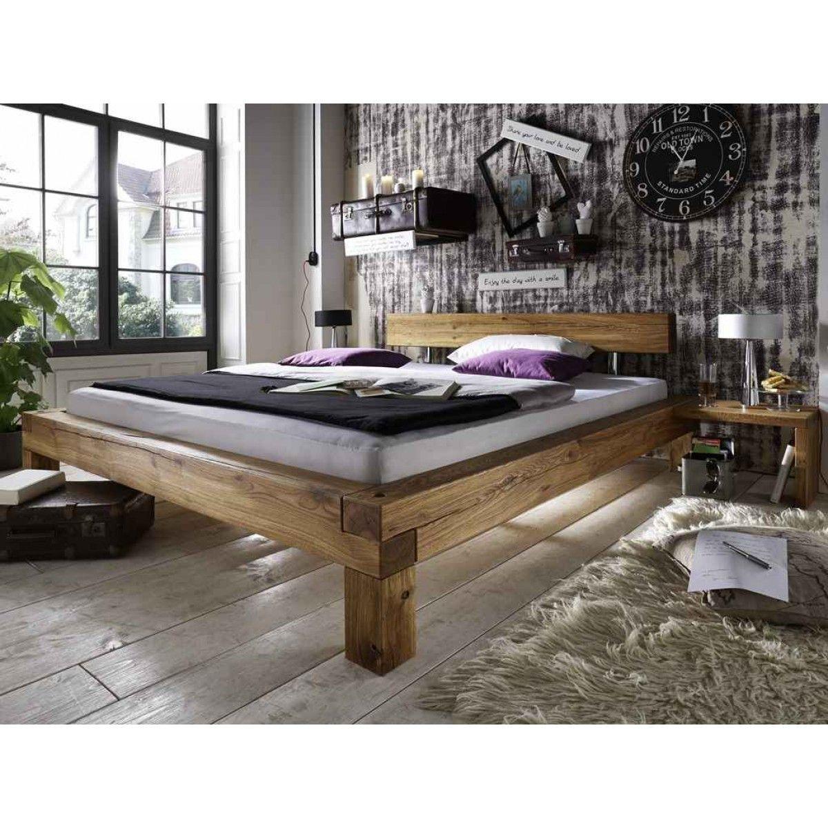 Full Size of Bett Eiche Massiv 180x200 Massivholz 140x200 Ohne Kopfteil Ruf Betten Fabrikverkauf Schwebendes Weiß Günstige Podest Bett Bett Eiche Massiv 180x200