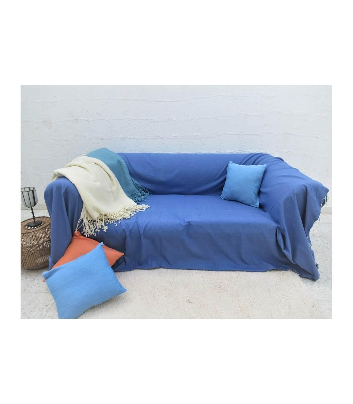 Full Size of überwurf Sofa Sofaberwurf Blautagesdecke Couch Blau Baumwolle Langes Barock Abnehmbarer Bezug Großes Comfortmaster Himolla Antikes Auf Raten Terassen Big Sofa überwurf Sofa