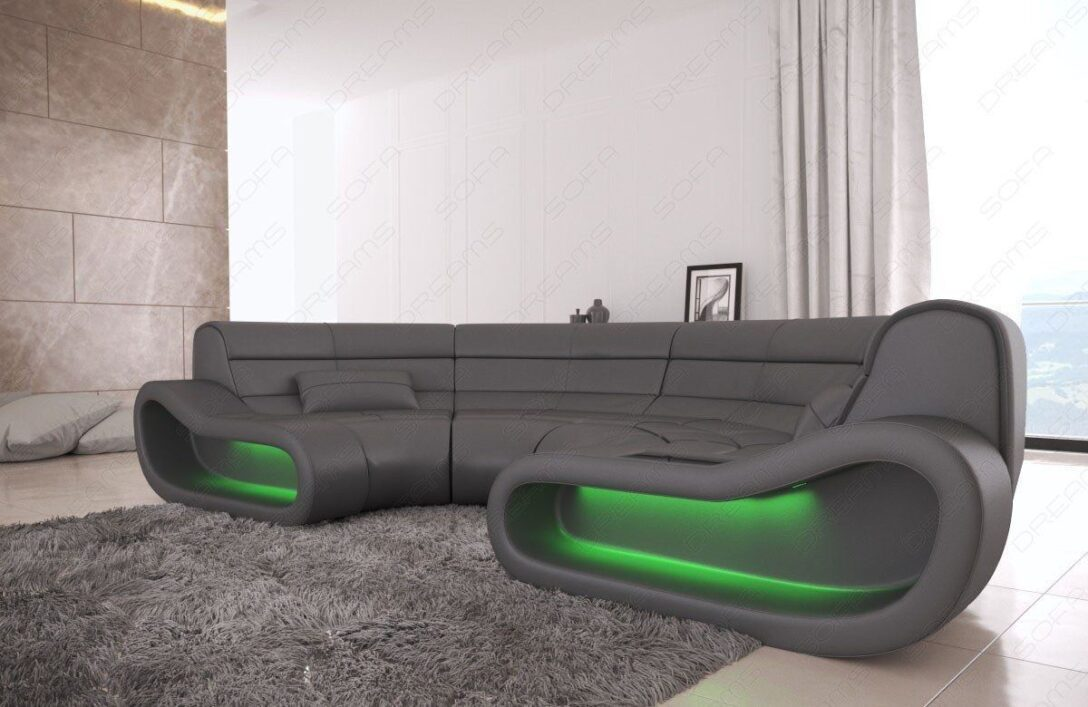 Large Size of Rundes Sofa Big Concept In Leder Mit Ottomane Und Led Beleuchtung Kaufen Günstig Delife Chesterfield Gebraucht Hannover Innovation Berlin Bora Billig 2 Sitzer Sofa Rundes Sofa
