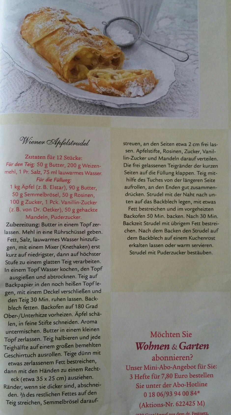 Full Size of Wohnen Und Garten Abo Wiener Apfelstrudel Whirlpool Stapelstühle Landschaftsbau Berlin Villeroy Boch Bad Trampolin Spielgerät Sitzgruppe Spielhaus Runde Garten Wohnen Und Garten Abo
